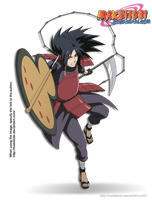 Uchiha Madara by Epistafy