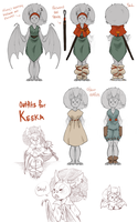 KEEKA OUTFITS by AgentDax