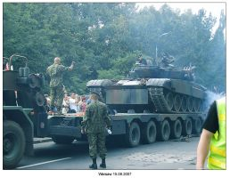 Warsaw military parade-after by SoundOfColor