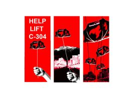 Red tent campaign by VanCityArtist