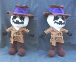 Rorschach Plush - Watchmen by WampusDragon