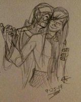 OTP Emma and Gunther Doodle by ObscurusVII