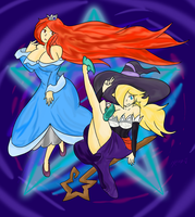 Star Sorceresses by Xero-J