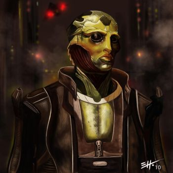 Thane Krios by Neo-Br