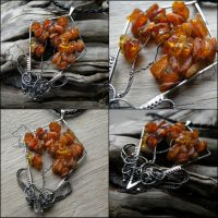 The Baltic Storm Tree pendant by Dark-Lioncourt