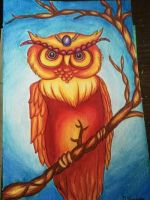 owl  by geeKISSexy