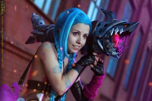 League of Legends. Jinx. 2 by aKami777