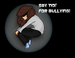 Say 'NO!' for bullying! by Unikonkukka