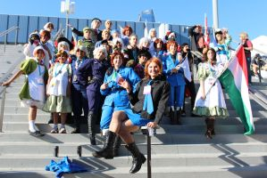 Axis Powers Hetalia - AX 2012 by AtomicBrownie
