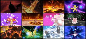 Pokemon ORAS - Contest Screen Captures by iPandacakes
