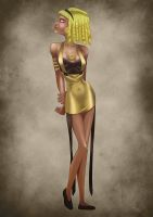 Goldie pinup by Erymanthe