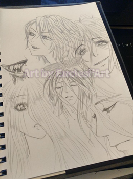 [Euclesiart] Style study - Trinity Blood by EuclesiArt