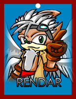 Rendar Conbadge by ARTic-Weather