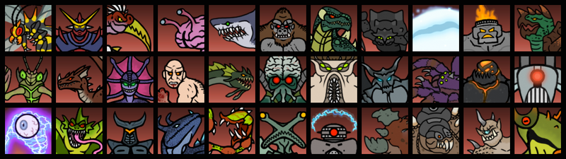 WOTM2: Monster Endings by DinoHunter2