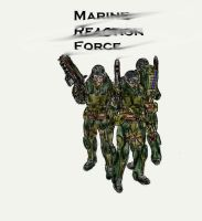 We are Marines: colored by murader191