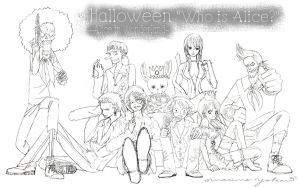 Halloween rough sketch  All by Paula-Ane