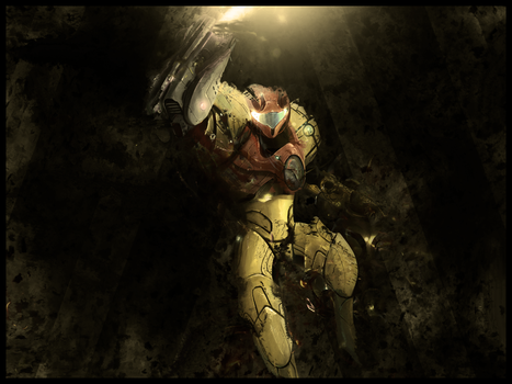 Metroid Wallpaper by YoungLinkGFX