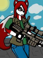 Ruby the sniper by vaultboy28
