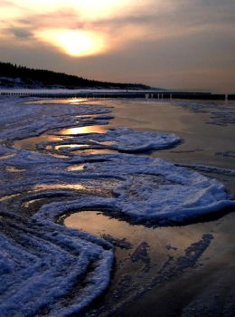 Freezed Baltic Sea by MyBloodyWings