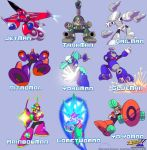 MMU - All 9 Robots Masters by MegaPhilX