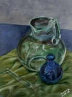 Glass Painting Study by j0rosa