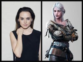 The Witcher Casting - Ciri by Doc0316