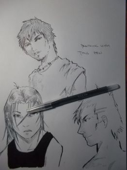 Practice with a Titus pen by HailFendo