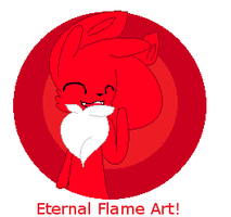 Flame Badge by qioqos