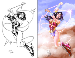 Wonder Woman by Champe-rp