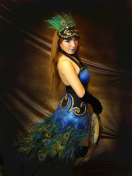 Peacock costume by pattasy
