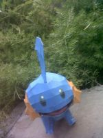 mudkip papercraft by turtwigcuTey