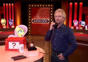 Ponies on Deal or No Deal by Uponia