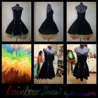 Rainbow Dress by Betwixt779