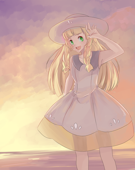 lillie by chiii-kun