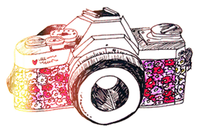 Camera Vintage PNG by FangirlEditions