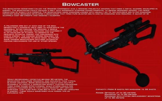 Bowcaster ech readout [New] by unusualsuspex