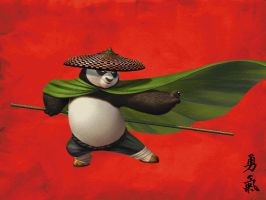 My Kung Fu Panda Wallpaper by SonAmyAlways