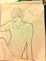Yagami Raito by Shylyn-Drawing-Queen