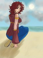 Next to the seashore by HoshinoDestiny