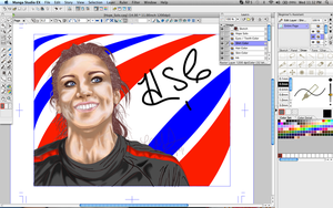 Hope Solo WIP 5 by LCMorganTDA