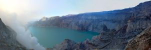 Ijen Crater Top by ProfSmiles