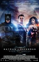 Batman V Superman : Dawn of Justice final poster by iamuday