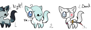 Adoptable 10 points 10 points 15 points by gigifeh