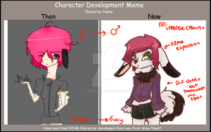Character Redesign Meme 2 by X-Kazumi-X