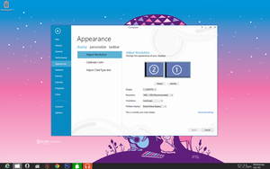 Windows 8 Control Panel - Appearance - Display by myownfriend