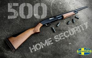 Mossberg 500 Home Security Wallpaper by dhrandy