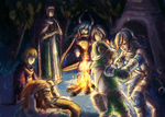 Radiant Historia - The Marshmallow Dispute by bahamutneo