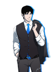 Dapper Dick Grayson by Kiniki-Chan