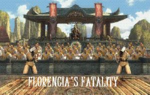 Florencia's Fatality by BlueMK