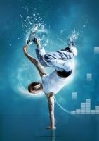 blue break dance by johngiannis27
